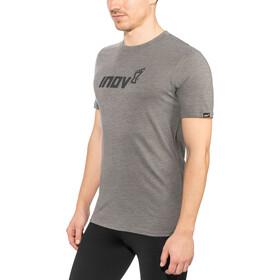 inov-8 Tri Blend Inov-8 Camiseta Manga Corta Hombre, dark grey
